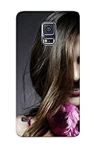 Crazinesswith Slim Fit Tpu Protector JInIeMn3111WzCBG Shock Absorbent Bumper Case For Galaxy S5