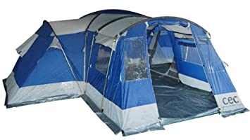 Discovery 10 Person Family C&ing Tent Mansion with C& Guides  sc 1 st  Amazon UK & Discovery 10 Person Family Camping Tent Mansion with Camp Guides ...