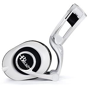 Blue Lola Sealed Over-Ear High-Fidelity Headphones, White