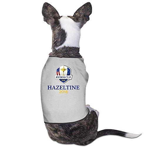 - Golf Ryder Cup 2016 USA Hazeltine Logo Dog Shirt Clothes