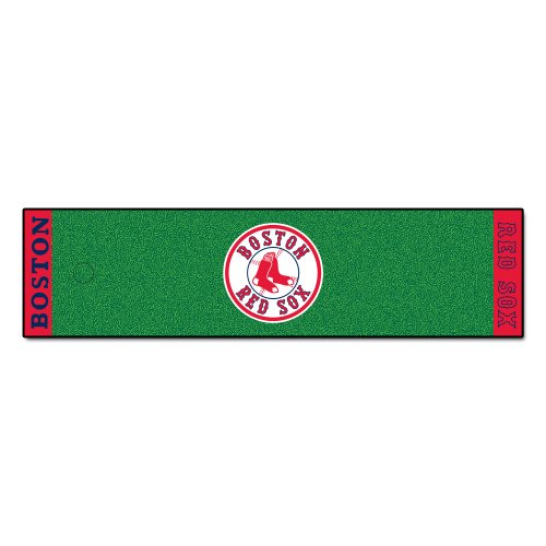 Fanmats MLB Boston Red Sox Nylon Face Putting Green Mat