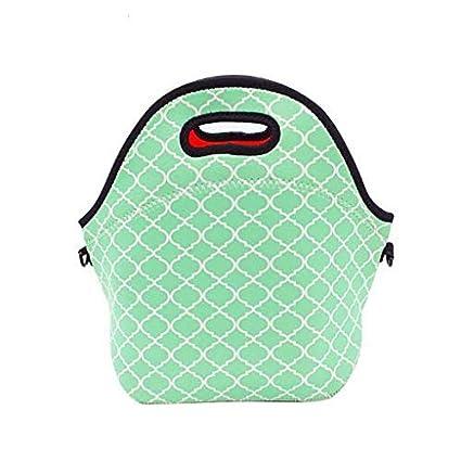 38dbb2722ede Amazon.com  No Prob- Llama Waterproof Lunch Tote Bag Portable Picnic ...