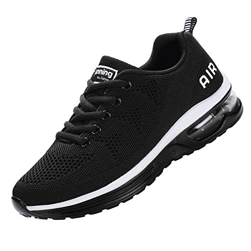 JACKSHIBO Women Sneakers, Athletic Running Tennis Shoes Air Cushion Comfortable Gym Sneakers