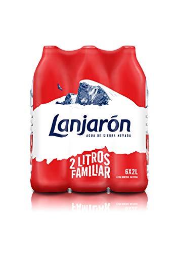Agua Mineral Natural Lanjaron 2L X 6