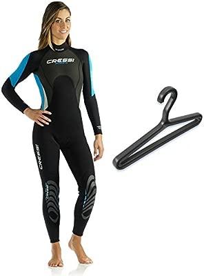 Cressi Morea 3mm Wetsuit Womens with Hanger: Amazon.es: Deportes y ...