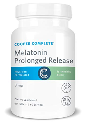 - Cooper Complete - Prolonged Release Melatonin - Time Release Tablet, Sleep Supplement - 60 Day Supply