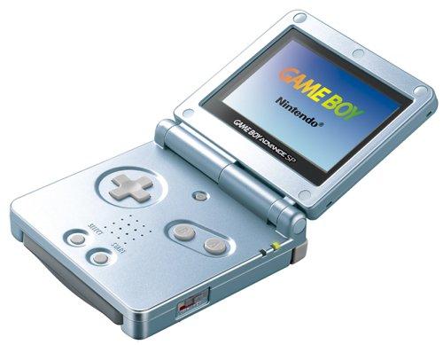 GameBoy Advance SP - Konsole #hellblau / arctic blue inkl ...