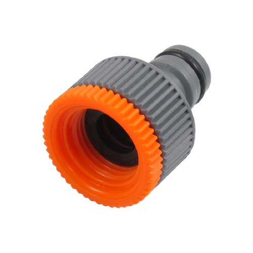 uxcell Plastic Quick Coupler Disconnect 19mm Thread for 16mm Connector
