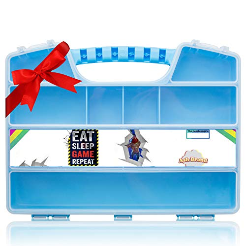 [해외]애쉬 브랜드 슈퍼 강한 & 長 지속 휴대용 케이스 로얄 액션 피 규 어 > 장난감-합법적인 전투 장난감 보호자 > 주최자 보관 함 수납 캐리 박스 / ASH BRAND Super Strong & Longest Lasting Carrying CASE for Royale Action Figures & Toys -...