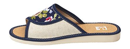 da Pantofole Chiusa Lw07e Aperta Punta Donna di a Comode Punta Lusso e UzxqAA7w