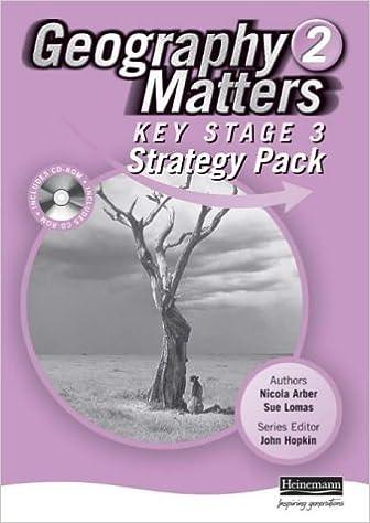Kostenloser Download im Ebook-Format Geography Matters: 2 - Key Stage 3 Strategy Pack (Geography Matters) auf Deutsch PDF ePub iBook