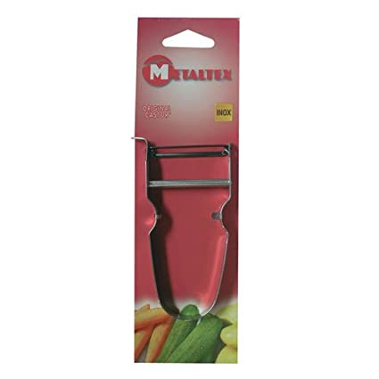 Metaltex 677007Zack Potato Peeler Silver