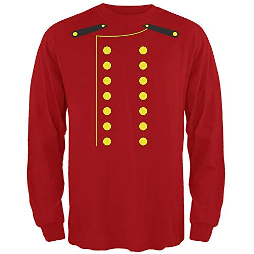 Halloween Hotel Bellhop Costume Red Adult Long