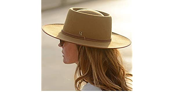 Amazon.com: RACEU ATELIER Camel Billy Hat - Wide Brim Fedora Hat - 100% Wool Felt - Fedoras & Trilby Hats - Water Resistant - Unisex -Cowboy Hats: Handmade