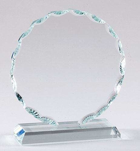 Studio Faceted Glass - The Trophy Studio Faceted Glass Sculpture 5 1/2