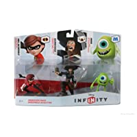 DISNEY INFINITY Figura 3-Pack: Sidekicks (Mrs. Incredible, Barbossa, y Mike)