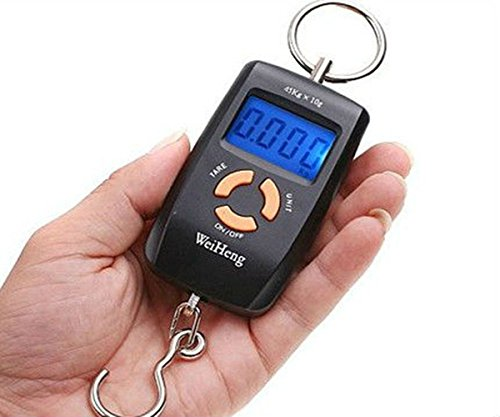 Pocket Size Digital fishing Scale 45kg Good Quality Accurate Result
