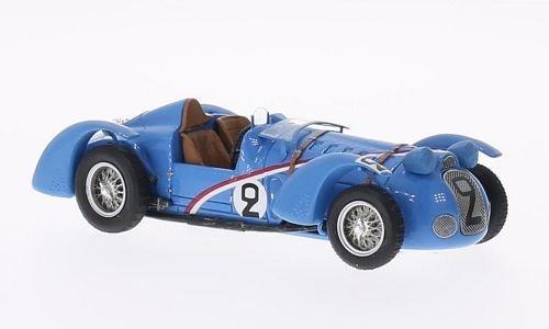 Delahaye 145, No.2, 24h Le Mans, 1938, Modellauto, Fertigmodell, Spark 1:43