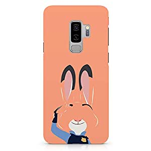Loud Universe Rabbit Zootopia Samsung S9 Plus Case Lt Judy Zootopia Samsung S9 Plus Cover with 3d Wrap around Edges