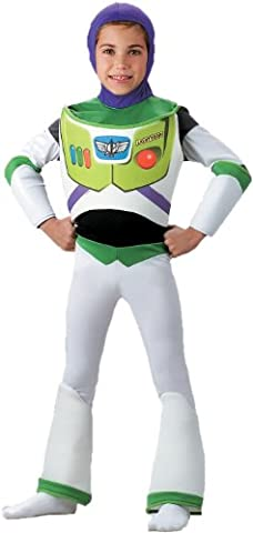 Deluxe Buzz Lightyear Costume - (Deluxe Bambino Buzz Lightyear Costume)