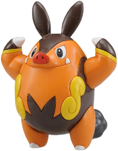 "Takara Tomy Pokemon Monster Collection Mini Figure - 1.5"" Chaobu / Pignite"