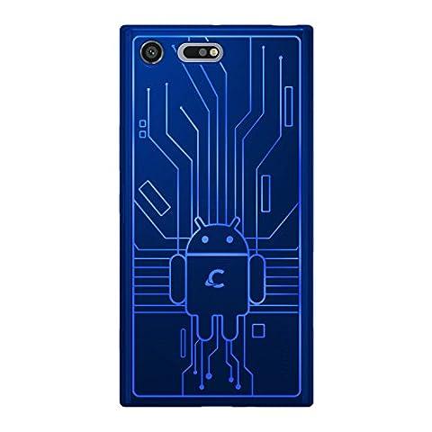 Cruzerlite Cell Phone Case for Sony Xperia XZ Premium - Blue (Cell Phones Cases Sony Xperia)