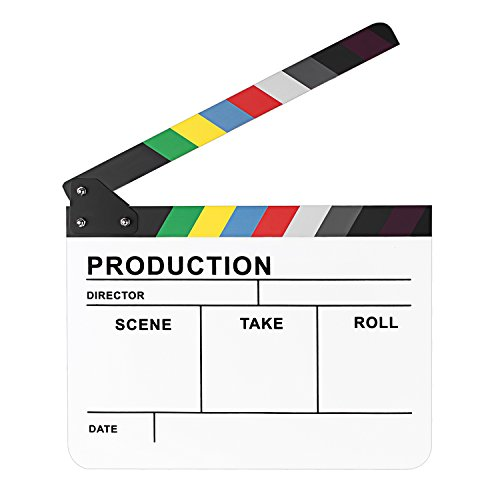 Neewer Colorful Directors Slateboard Clapboard