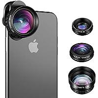 iPhone Camera Lens, SLR Level 4 in 1 HD iPhone Lens Kit,...