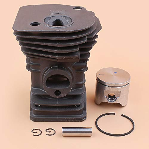 Laliva tools - 42mm Cylinder Piston Kit For Husqvarna 340 345 Chainsaw Engine Motor Parts (High Type)