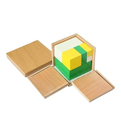 Montessori Power of 2 Cubes: Toys & Games