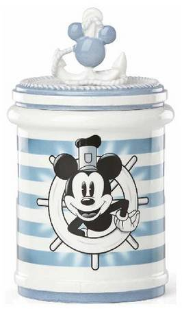 Lenox Anchors Away Mickey Mouse Treat Jar