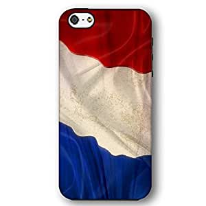 French France Flag iPhone 5 and iPhone 5s Armor Phone Case by lolosakes
