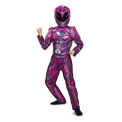 Pink Power Ranger Accessories (Power Rangers: Pink Ranger Deluxe Child Costume (7-8))