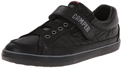 Camper Kids Pelotas Persil Sneaker (Toddler/Little Kid/Big Kid), Black/Black,38 EU (6 M US Big Kid) by Camper