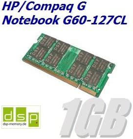 Memoria RAM de 1 GB para HP/Compaq G Ordenador Portatil G60 – 127 ...