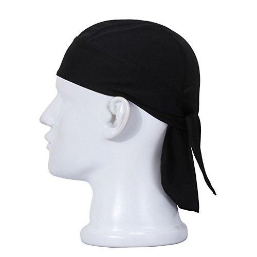 Wear Du Rag - Koolip Sweat Wicking Beanie Chemo Skull Cap - Head Wrap Bicycle Running Mask Bandana Scarf For Women Men