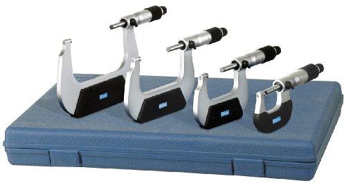 0-25mm 0.01mm Metric Outside Micrometer Caliper Measuring Tool - 8