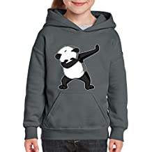 Xekia Dancing Panda Birthday Gifts Hoodie For Girls - Boys Youth Kids