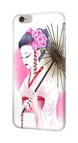 R2579 Japanese Traditional Geisha Kimono Case Cover For IPHONE 6S ()