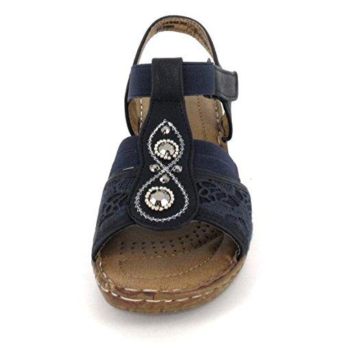 Supremo Sandalette, Farbe: Navy