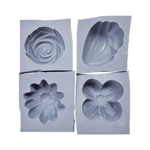 Summer Flowers Rubber Molds, - Mold Mint