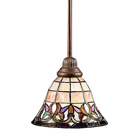 Portfolio flora 85 in w art nouveau bronze mini pendant light with portfolio flora 85 in w art nouveau bronze mini pendant light with tiffany style aloadofball Gallery