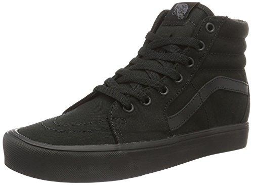 Nero Lite Canvas Sk8 Vans a Sneaker Adulto Collo Alto Hi Unisex 1zvxvA
