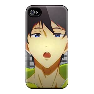 Hot VJPsLKs2153avSDz Haruka Nanase Tpu Case Cover Compatible With Iphone 4/4s