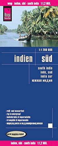 India Süd : 1/1 200 000 (Espagnol) Carte – Carte pliée, 1 janvier 2014 Reise Know-How 3831770840 Atlases Maps