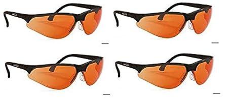 Orange Thrее Расk Terminator UV-400 Safety Glasses for Blue Light and UV Protection