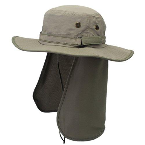 囲まれた連結するスクレーパーつば広 カバー付き 日よけ帽子 農作業 おしゃれ 実用 UVカット 紫外線防止 旅行 ピクニック 登山 釣り 海辺 アウトドア 春夏 男女兼用