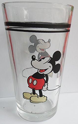 Advertising Tumbler - Vintage Mickey Mouse drinking Glass Tumbler