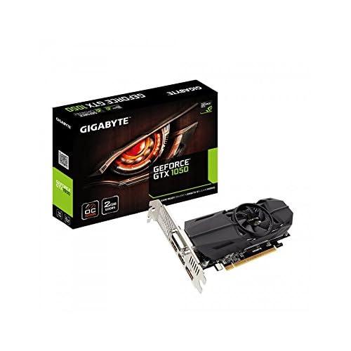 Gigabyte GeForce GTX 1050 OC Low Profile 2G GeForce GTX 1050 2GB GDDR5 - graphics cards (NVIDIA, GeForce GTX 1050, 7680 x 4320 pixels, 1366 MHz, 1468 MHz, 7680 x 4320 pixels)