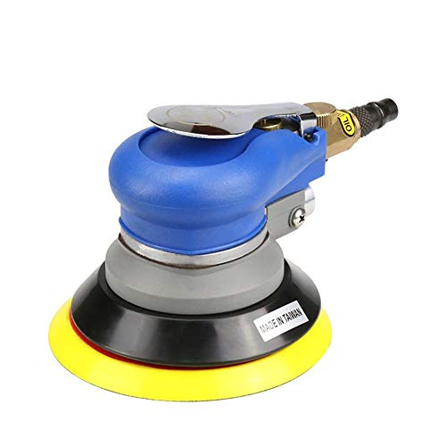 High Strength Pneumatic Sander, SN-313 Dry Grinding 5 Inch Industrial Grade Dust-free Pneumatic Grinding Machine Multifunction and Ergonomic